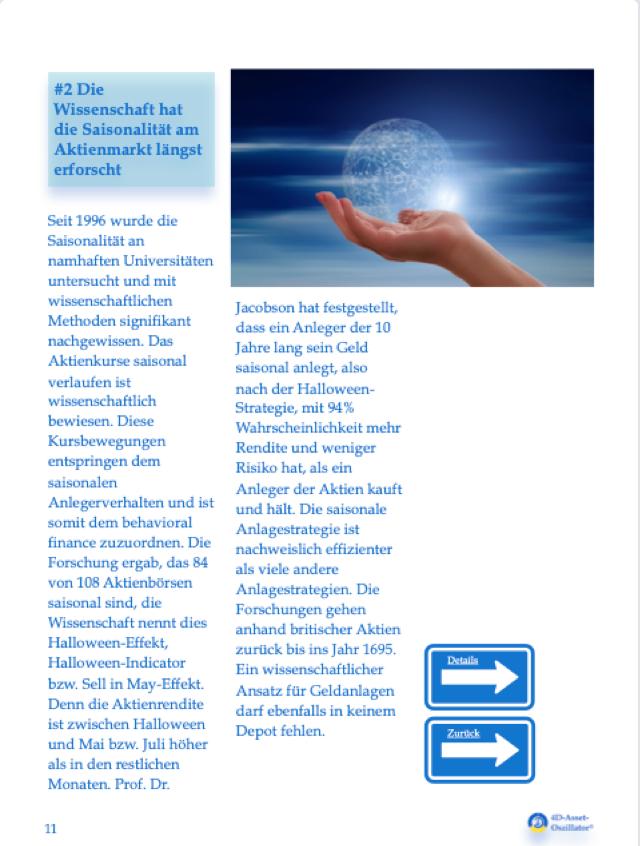 """Wissenschaft der Börsenweisheit """"Sell in May.."""""""
